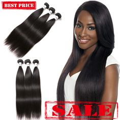 Brazilian straight hair natural color