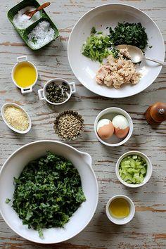 Tuna Kale and Egg Salad by joy the baker, via Flickr
