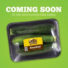 We're excited to announce our NEW Udi's Gluten Free Vegetables! Look for them in the produce section.