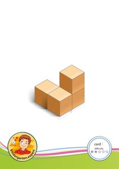 Buiding card difficulty 2 for block area, for kindergarten and preschool, kindergarten expert. Math Patterns, Block Area, Preschool Kindergarten, Occupational Therapy, Puzzle, Shapes, Activities, Learning, Building
