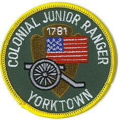 Yorktown Battlefield, VA has a Junior Ranger Program. designed for children through age of 12. Each Junior Ranger Program takes about two hours to complete. Booklets can be purchased for $.96 from the gift shop.