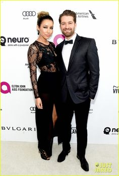 Matthew Morrison Brings Wife Renee to Oscars 2016 Party   matthew morrison 2016 oscars party renee 02 - Photo