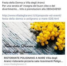 #FestadellaDonna #eventsinpuglia #party #restaurant #polignanoamare #weareinpuglia