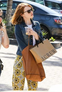 Emma Stone's Favorite New Bag Is on Sale (For Under $100) via @WhoWhatWear
