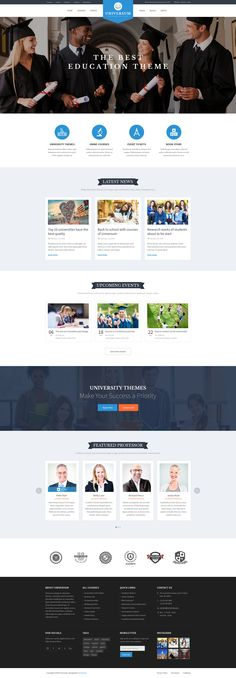 UNIVERSUM - Education, Event and Course PSD Template