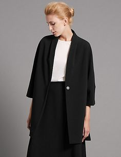Tailored Fit Oversize Jacket | M&S