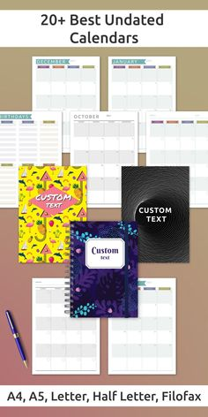 This collection of Undated Calendars is for person who love life planning and keeping things in order. These planners are both simple and efficient. A more productive you start here! Day Planner Template, Weekly Meal Plan Template, Monthly Budget Template, Checklist Template, At A Glance Planner, Hourly Planner, Goal Setting Template, Goals Template, Simple Budget Template