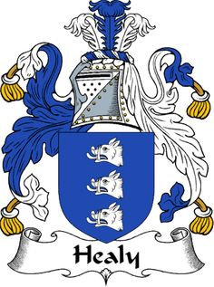 Healy Clan Coat of Arms