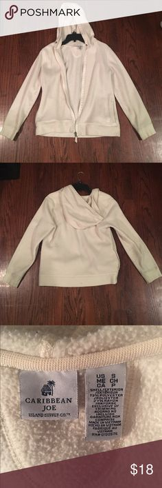 White Jacket White Jacket. Gently worn. Very comfy. Great condition! Jackets & Coats