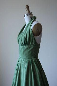 R E S E R V E D 50s vestido vestido Vintage de los por jumblelaya