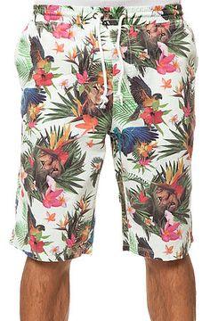 The Hawaiian Safari Shorts in Off White by LRG