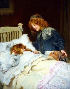 Peintre -Arthur John Elsley