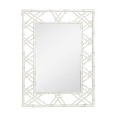Bungalow 5 Claire Mirror White, available at #polkadotpeacock. #peacocklove #bungalow5