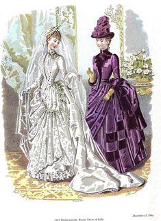 1886 ilustración de una revista de moda. La Mode illustree 1886. Comentarios: LiveInternet - Russian servicios en línea Diaries