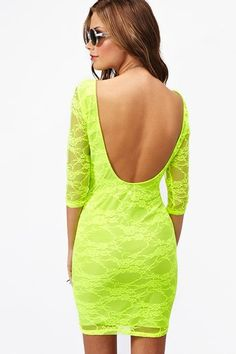 Blinded Lace Dress in What's New at Nasty Gal