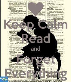 Keep calm and read a book.❤️