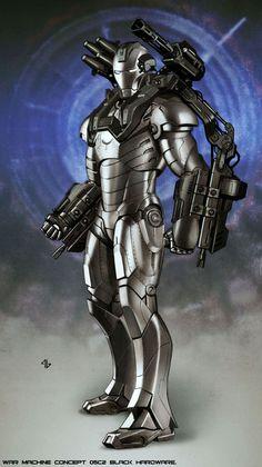 War Machine - Black Hardware