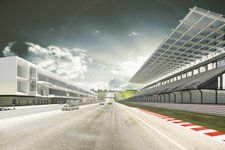An artist's impression of the Circuit of the Americas in Austin, Texas, venue for the 2012 Formula 1 United States Grand Prix © Circuit of the Americas F1 Austin, Circuit Of The Americas, World Championship, Motogp, Formula 1, Grand Prix, Architecture Design, New Homes, United States