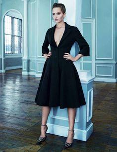 Dior par Raf Simons - FW 2013/14 worn by Jennifer Lawrence.