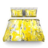 Found it at AllModern - Picking Around Light by CarolLynn Tice Cotton Duvet Cover