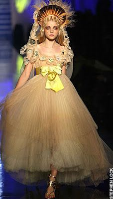 If It's Hip, It's Here: Gaultier Makes Fashion A Religious Experience