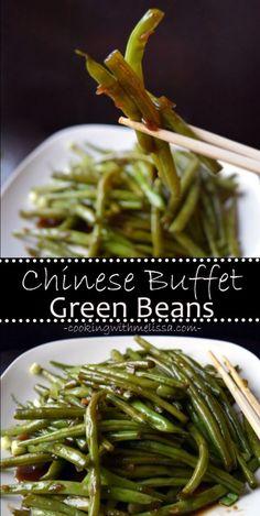 Chinese Buffet Green Beans #GreenBeans #ChineseBuffet #onepot