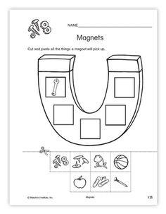 MAGNETS WORKSHEET (SCIENCE)