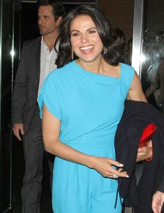 Lana Parrilla at abc upfronts & entertainment weekly event May 13th 2014.