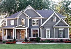 Plan W15673GE: Traditional, Craftsman, Photo Gallery, Corner Lot House Plans & Home Designs