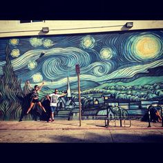 Starry Night  Venice Beach | A CHAO DESIGN travels #mimpilivelove