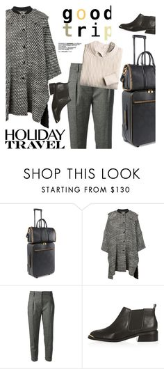 """""""Travel in Style, Holiday Edition"""" by ansev ❤ liked on Polyvore featuring STELLA McCARTNEY, Brunello Cucinelli, 3.1 Phillip Lim, Topshop and travelinstyle"""