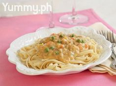 Pasta with Tuna and Mango Recipe | A creamy pasta dish gets sweet flavors from local mangoes!
