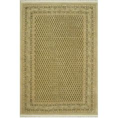 American Home Rug Co. American Home Classic Mir Gold Area Rug Rug Size: 2' x 4'