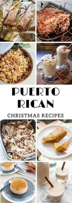 A collection of my favorite family Puerto Rican Christmas recipes all in one place. I got all the essentials covered. Russian Christmas Food, Spanish Christmas Food, Christmas Food List, Homemade Christmas Gifts Food, British Christmas, Christmas Recipes, Italian Christmas, Spanish Food, Aussie Christmas