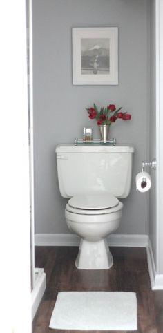 Easy & inexpensive bathroom remodel | diy floor