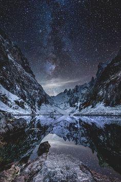 Milky Way over Fälensee Lake Switzerland | Fabio Antenore Say Yes To Adventure