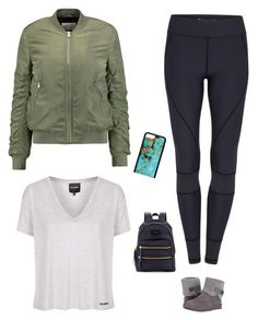 """""""#FRIDAY⛸❄️"""" by jadesfit on Polyvore featuring Topshop, W118 by Walter Baker and UGG"""