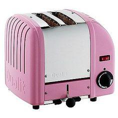 Dualit- -Classic Bread 2-Slice Toaster - Petal Pink