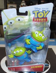 Disney Pixar Toy Story ALIEN Figures New! #Mattel