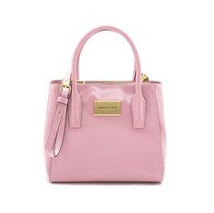 BIMBA Y LOLA bolso tote pequeño rosa