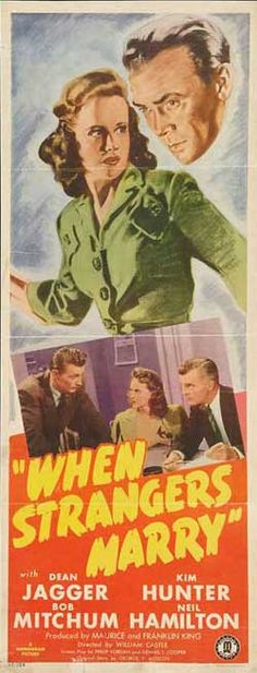 The Movies of 1944: When Strangers Marry by Jake Hinkson