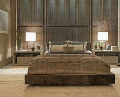 Bedroom Brazilian style. Via Casa BR