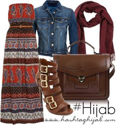 Hashtag Hijab Outfit #299-Perfect summer outfit!