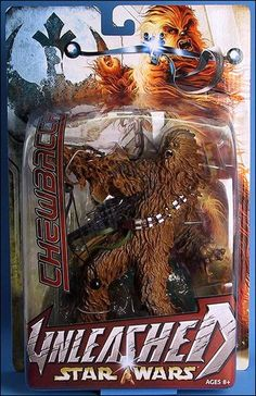 Star Wars: Unleashed Chewbacca by Hasbro