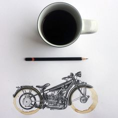Coffee Stains and BMWs / Carter Asmann #motorcycles