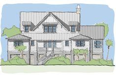 Wattled Ibis House Plan