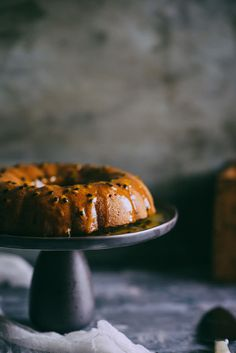 Mango.  Coconut.  Passionfruit.  This cake is all about summer.  click through to see the recipe...