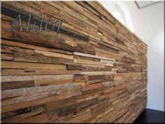 fa- falburkolat egyedi gyártású dekor
