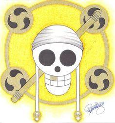 by LoLoOw on DeviantArt One Piece Tattoos, Anime Lock Screen, Jolly Roger, Line Drawing, Anime Characters, Fairy Tales, Geek Stuff, Fan Art, Skulls