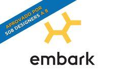 Você pode duvidar à primeira vista, mas o logotipoda Embark é uma obra prima do
